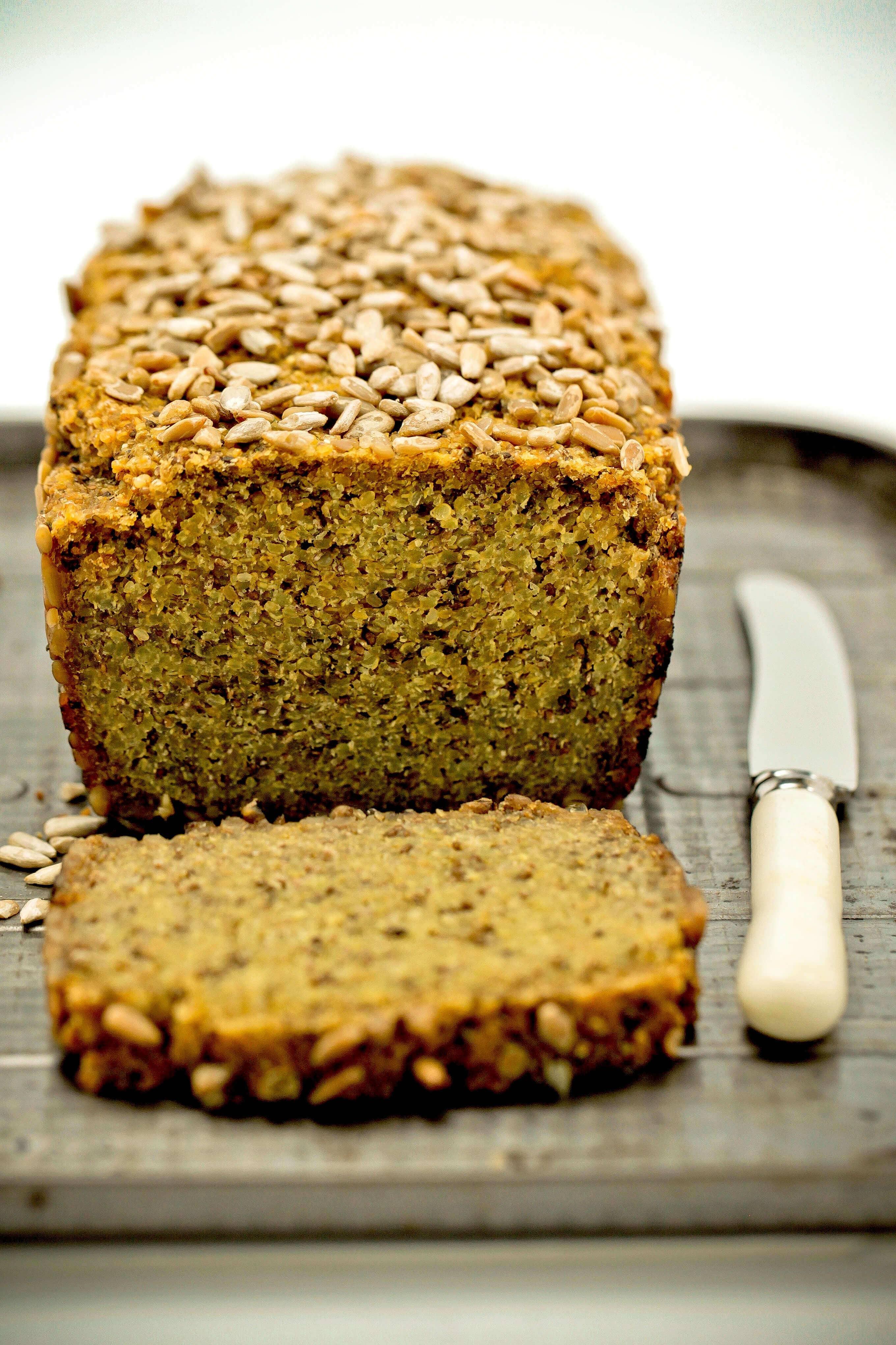 Gluten-Free Quinoa + Chia Bread