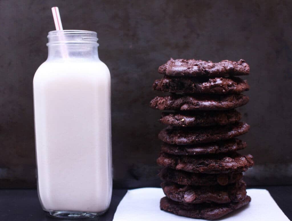 Best Gluten-Free Vegan Double Chocolate Chip Cookies