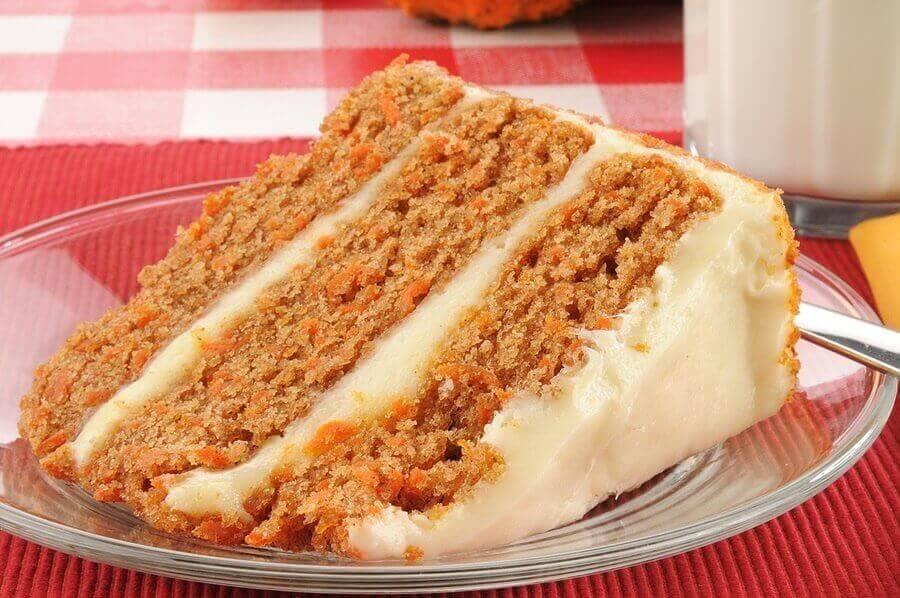 Grandma's Best Dairy Free Carrot Cake