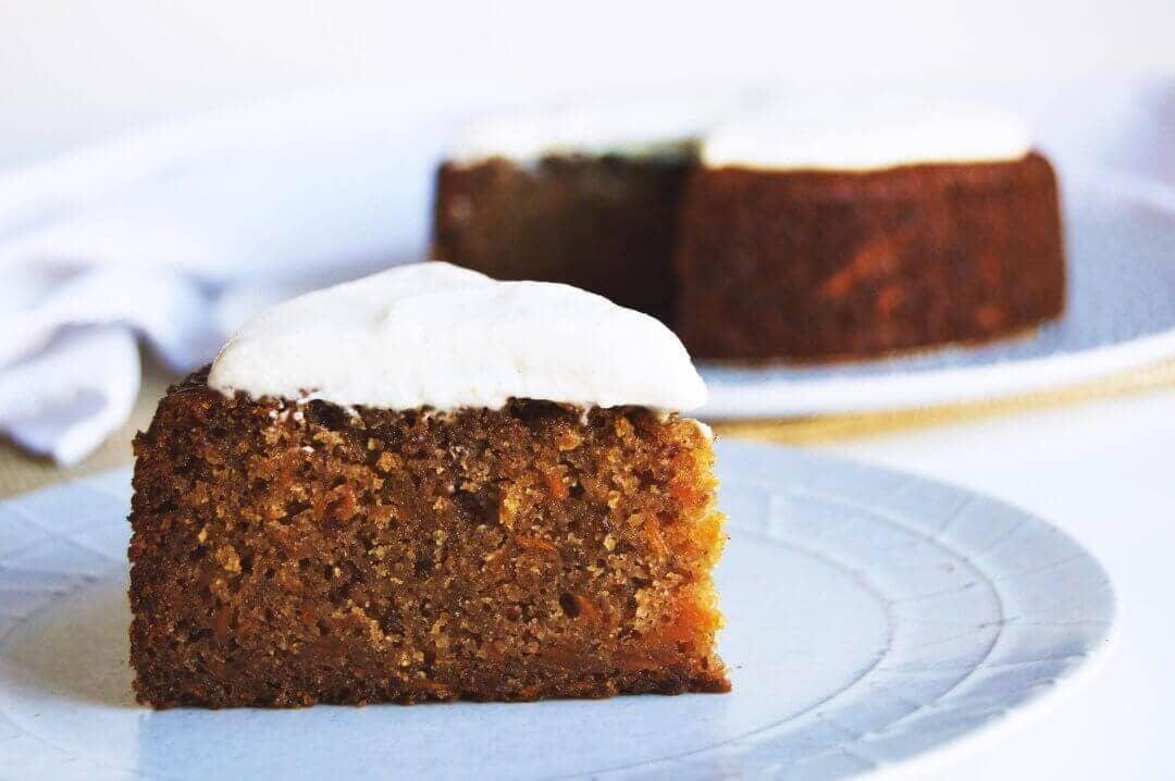 Vegan Spiced Carrot Cake (Gluten-free)