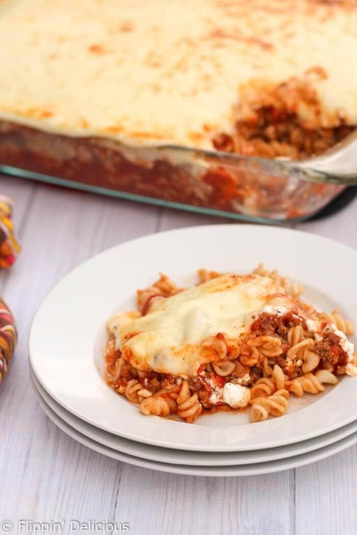 Easy Gluten-Free Lasagna Casserole