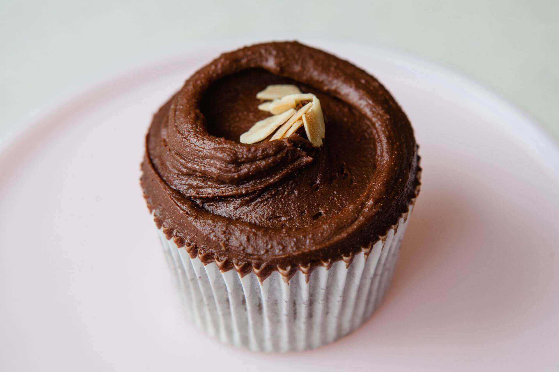 Gluten-Free Chocolate and Almond Cupcakes
