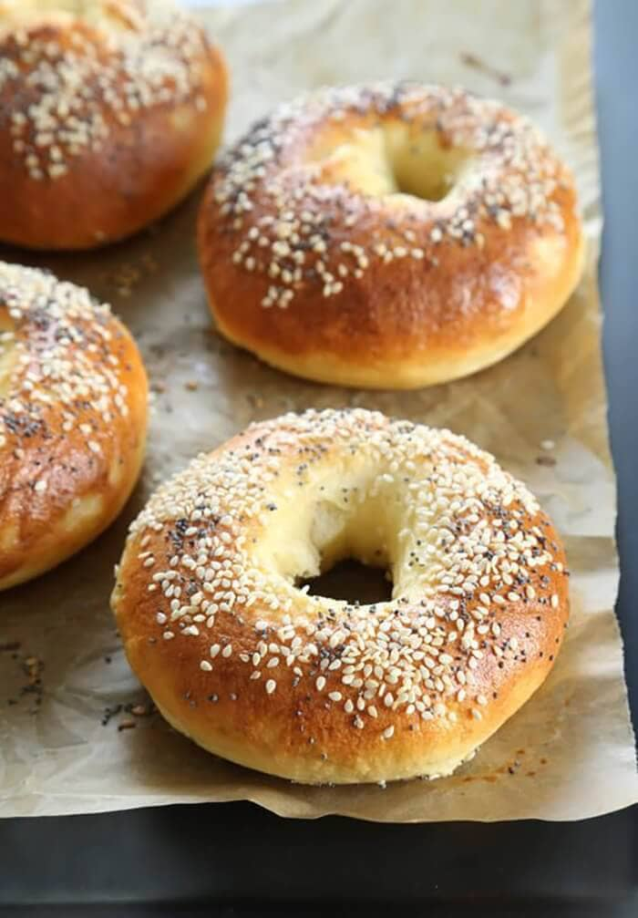 Easy No Rise Bagels