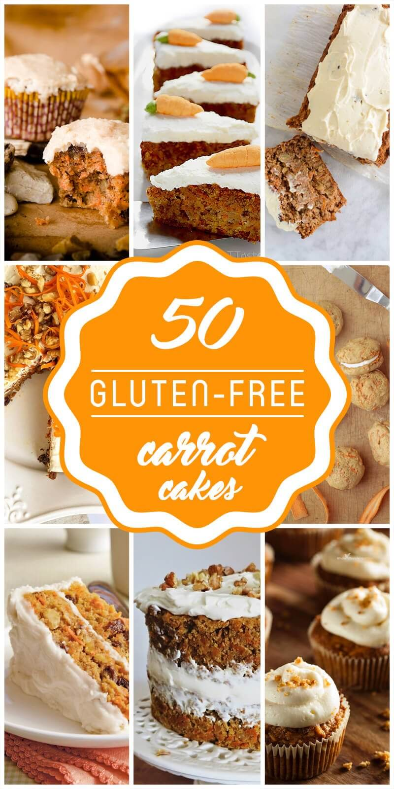 Gluten-Free Carrot Cakes