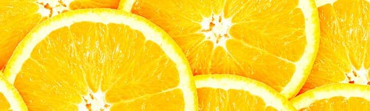 Orange slices to heal love bytes