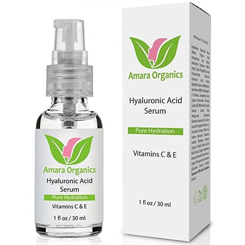 Amara Organics Hyaluronic Acid Serum for Skin