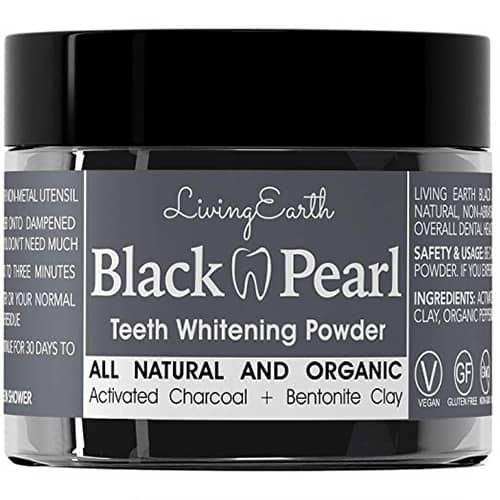 Black Pearl Teeth Whitening Powder